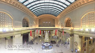 EarthCam's Premieres Construction Time-Lapse of Chicago Union Station Renovation