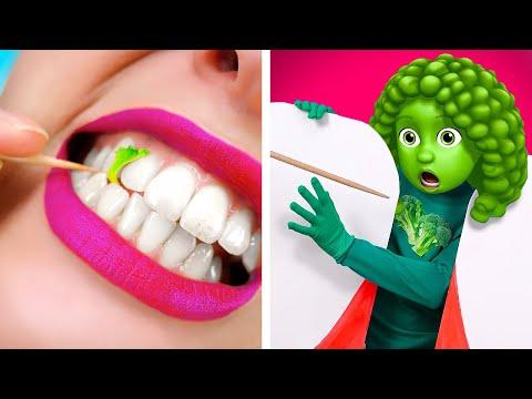 If FOOD were PEOPLE | Funny Food Situations by La La Life Emoji
