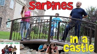 SARDiNES Hide And Seek IN A Cinderella CASTLE / That YouTub3 Family Family Channel