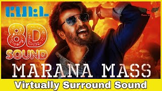 Marana Mass | 8D Audio Song | Petta | Rajinikanth, Vijay Sethupathi | Anirudh Ravichander 8D Songs