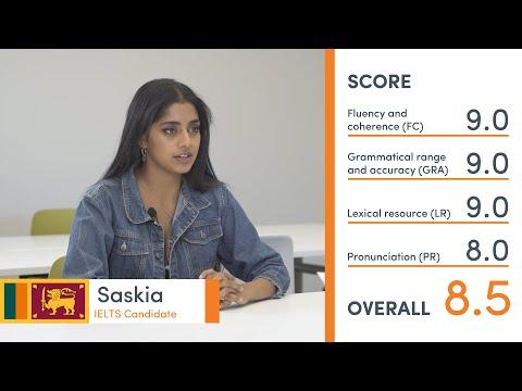 Band 8.5 IELTS Practice Speaking Exam (mock test) - with teacher feedback - Saskia from Sri Lanka 🇱🇰