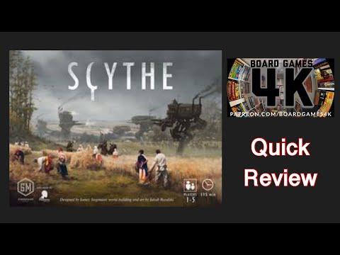 Scythe - Quick Review (4K)