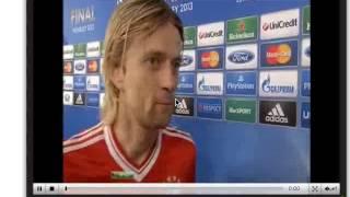 Интервью Анотолия Тимощука (игрок ф.к. Бавария)