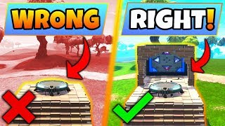 Fortnite Gameplay: 5 WEIRD/CREATIVE TIPS YOU SHOULD KNOW! – +Bouncer Pad (Battle Royale Update Tips)