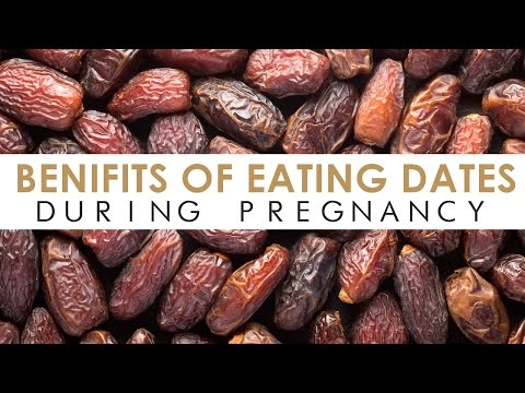 Video Benefits of Eating Dates During Pregnancy [ISLAMIC]