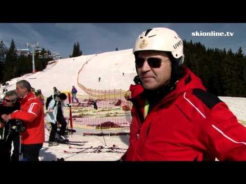 Stacja narciarska Hartman w Czechach - luty 2017