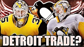 Matt Murray & Tristan Jarry Red Wings Trade? Pittsburgh Penguins / Detroit NHL Trade Rumours & News