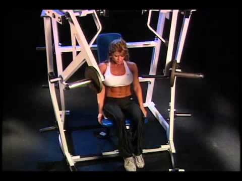 How to do Lever Decline Chest Press correctly? Avoid any injury. #74