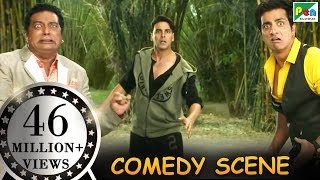 Dogs Fighting With Prakash Raj & Sonu Sood- Comedy Scenes | Entertainment | Hindi Film