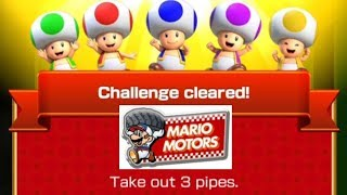 Take Out 3 Pipes Mario Kart Tour