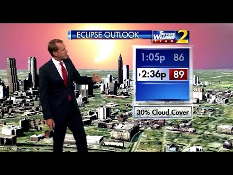 Georgia eclipse forecast: Conditions improving for viewing