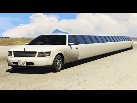 WORLD'S LONGEST CAR MOD! (GTA 5 Mods Funny Moments)