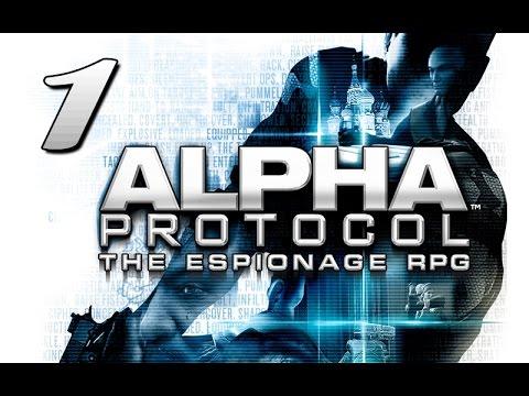 Прохождение Alpha Protocol - #1 [Обучение]