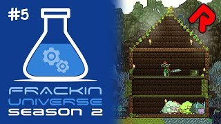 Automation for Farming, Centrifuge  Extraction! | Let's play Starbound Frackin' Universe S2 ep 5