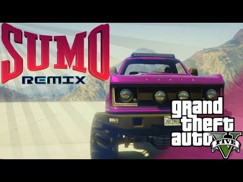 GTA 5 | PLAYING BUMPER CARS OVER DEEP WATER!! *SUMO REMIX*