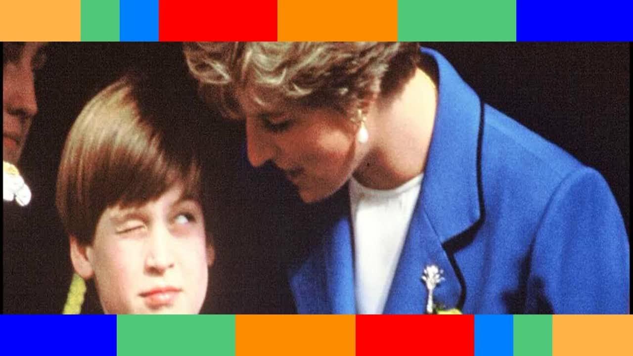 William moqué à l'école à cause des amours de Diana «C'était très difficile»