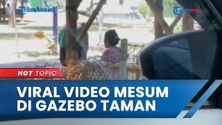 Viral Video Pasangan Remaja Mesum di Gazebo Taman Maramis Probolinggo, Kini Ditangkap Polisi