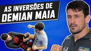 BJJ NO MMA ➜ AS INVERSÕES DE DEMIAN MAIA