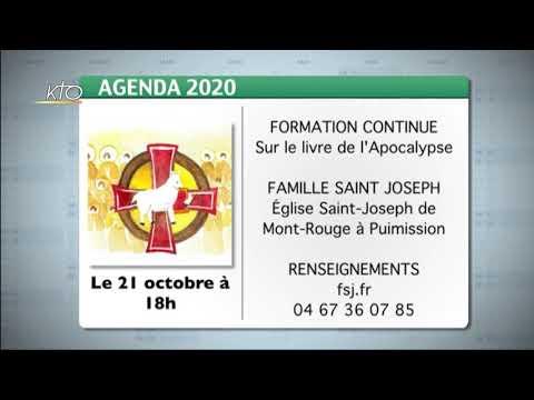 Agenda du 16 octobre 2020