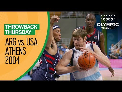 Download Argentina V USA - Semi Final | Athens 2004 - Condensed Game | Throwback Thursday HD Mp4 3GP Video and MP3