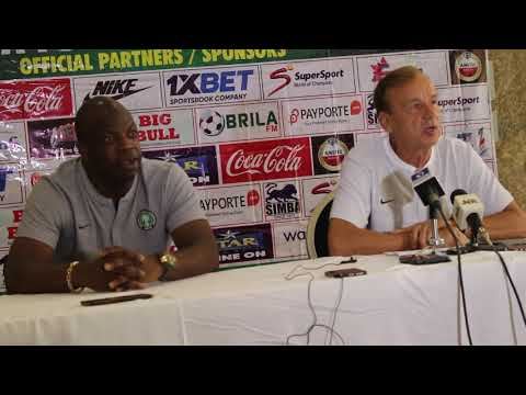 Rohr PreMatch Interview NIG vs LBY (Part1)