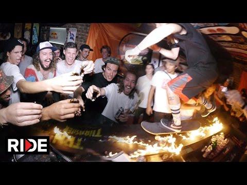 TRH Bar Rat Race 2016 - Skating, Alcohol, Fire & More!