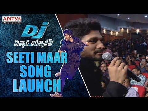 Seeti Maar song Launch @  DJ Audio Launch Live Event