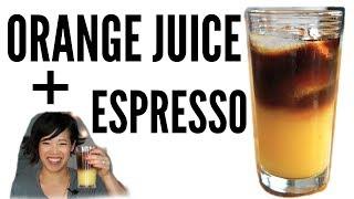 ORANGE JUICE + ESPRESSO Taste Test | Sunrise, Good Morning, Vietnam, OJ Express