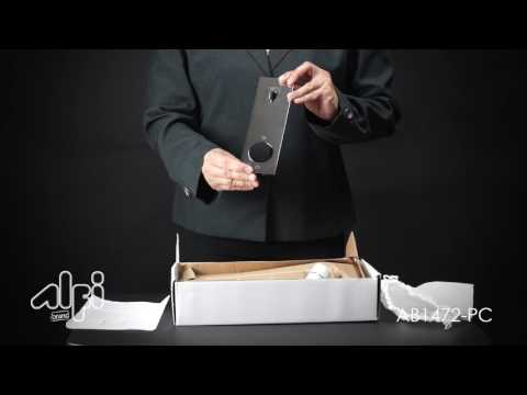 Video for Polished Chrome Wall Mounted Bathroom Faucet