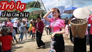 Lễ hội Cốm Tú Lệ (Phần 2 ) | Gặp toàn gái Thái xinh và trò chơi dân tộc độc lạ