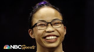 Morgan Hurd rebounds with great final night to finish 4th at nationals | NBC Sports