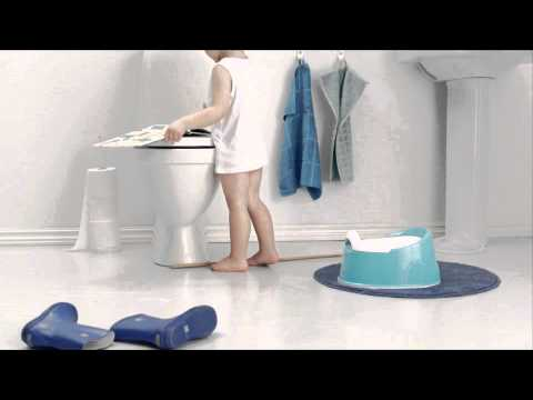 BABYBJORN стульчик-подставка серый