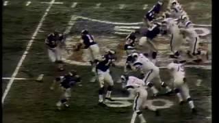 1969 NFL playoffs: Los Angeles Rams vs Minnesota Vikings (rare videotape highlights)
