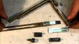 preview picture of video 'Reparatur Eckumlenkung kurz 31.07.2012 Schlosserei Oldorf.wmv'