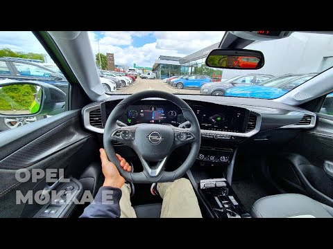 New Opel Mokka E-Ultimate 2021 Test Drive Review POV