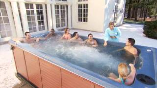 Swimming and Water Exercises in Your Hot Tub