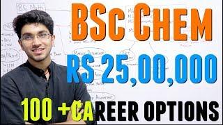 BSc Chemistry Career Options | 100+ Career Options