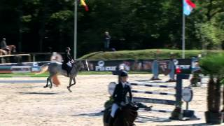 ELINE BARBIZON 2013 CSI1* GP 1m30