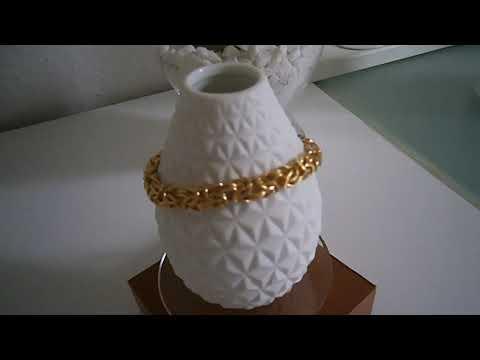 Armkette silbervergoldet / 925er