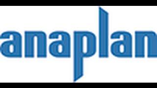 Anaplan планирование бюджетирование  S&OP консолидация финансовой отчетности как внедрить?