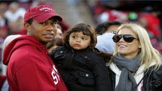 Tiger Woods Daughter & Son 2018