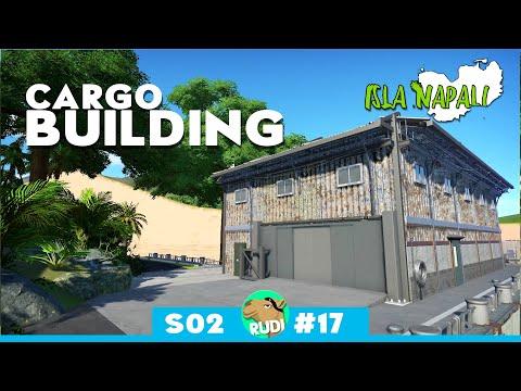 ISLA NAPALI - Cargo Building - Planet Coaster - Rudi Rennkamel