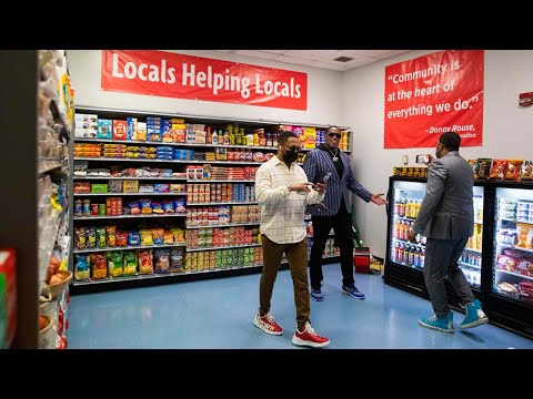 Master P, Romeo And Rouses Create Convenient Grocery Store For Disabled Seniors