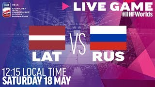 Latvia vs. Russia | Full Game | 2019 IIHF Ice Hockey World Championship