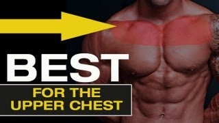 """How to get a BIGGER UPPER CHEST - The """"Ultimate Chest Exercise"""""""