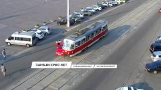 ДТП на ЦУМе с Трамваем   29 07 16