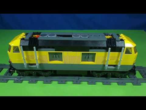 Vidéo LEGO City 7939 : Le train de marchandises