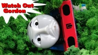 """Thomas And Friends """"Watch Out Gordon"""" トーマス プラレール ガチャガチャ あせったゴードン"""