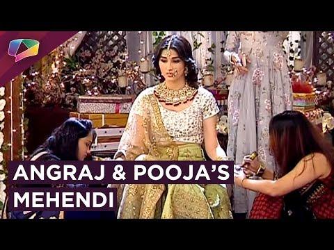 Angraj And Pooja's Mehendi Rituals Begin | Naren Escapes | Piya