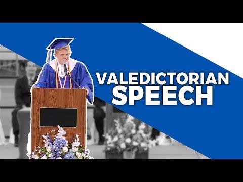 How to write a high school application valedictorian speech